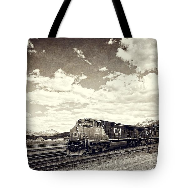 Canada Rail Tote Bag by Ivy Ho