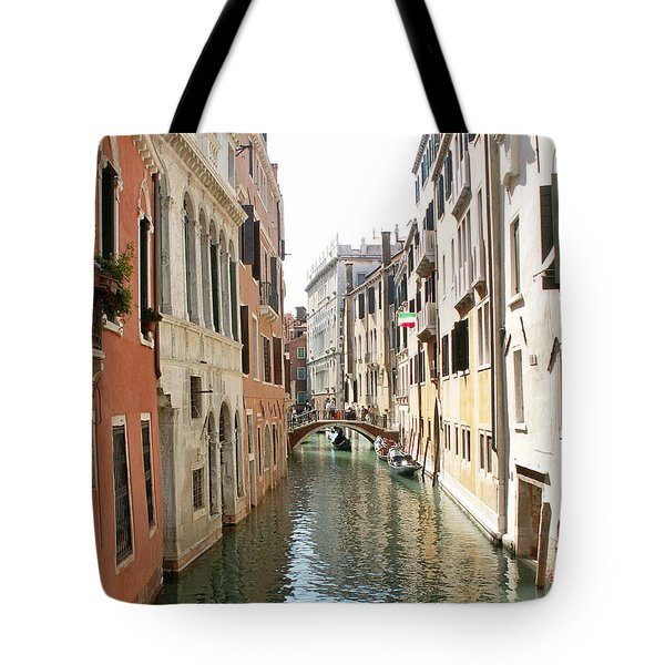Canal Tote Bag by Evgeny Pisarev