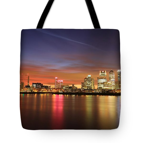 Canary Wharf 2 Tote Bag