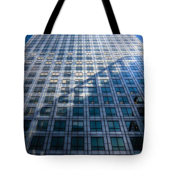 Canary Wharf Tower Tote Bag by David Pyatt