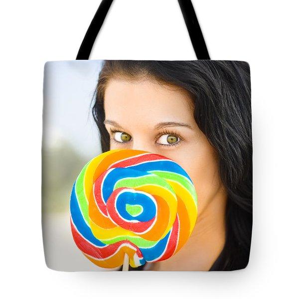 Candy Craze Tote Bag
