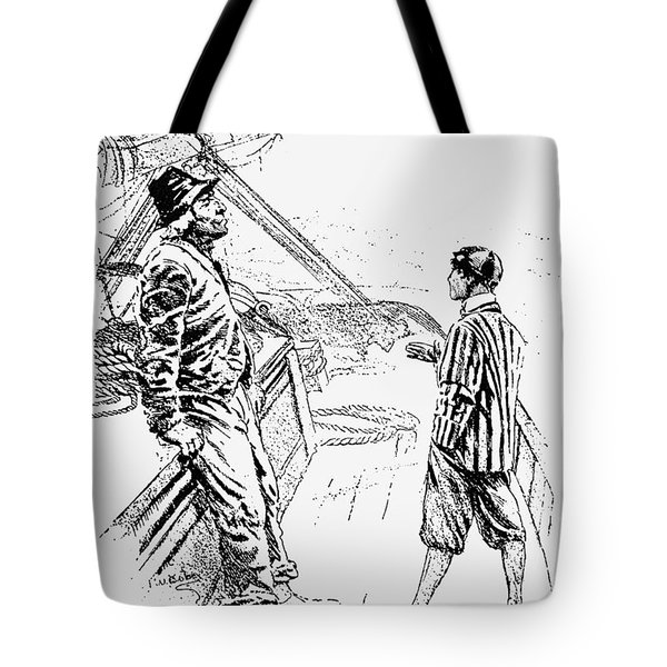 Captains Courageous Tote Bag
