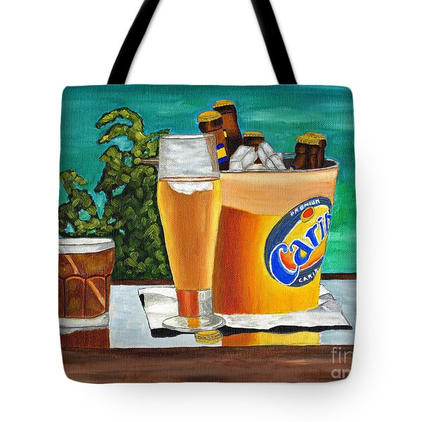 Caribbean Beer Tote Bag