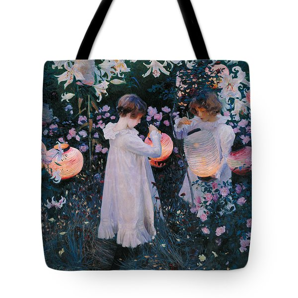 Carnation Lily Lily Rose Tote Bag