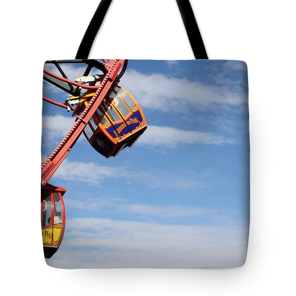 Carousel Twist Tote Bag