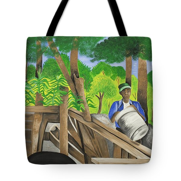 Carrying The Load Tote Bag by Patricia Sabree
