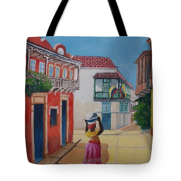 Cartagena Seller Tote Bag