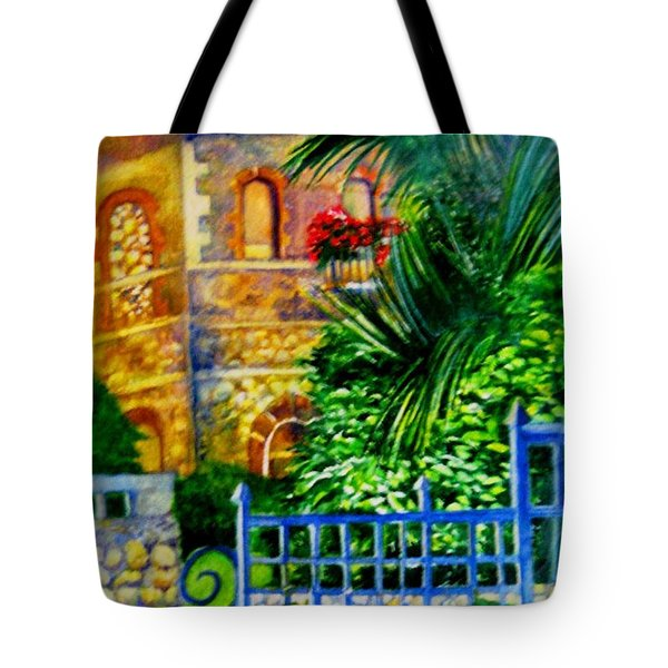 'casa At Radda' Tote Bag