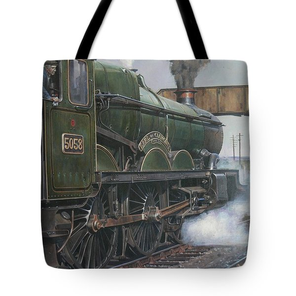 Castle Class 4.6.0. Tote Bag by Mike  Jeffries