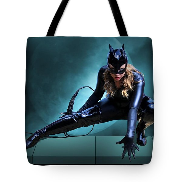 The Feline Fatale Tote Bag