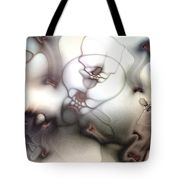 Tote Bag featuring the digital art Ceaseless Vicissitude by Casey Kotas