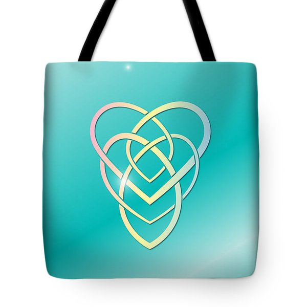 Celtic Motherhood Knot Tote Bag