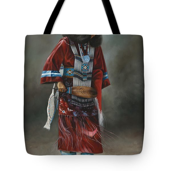 Ceremonial Red Tote Bag