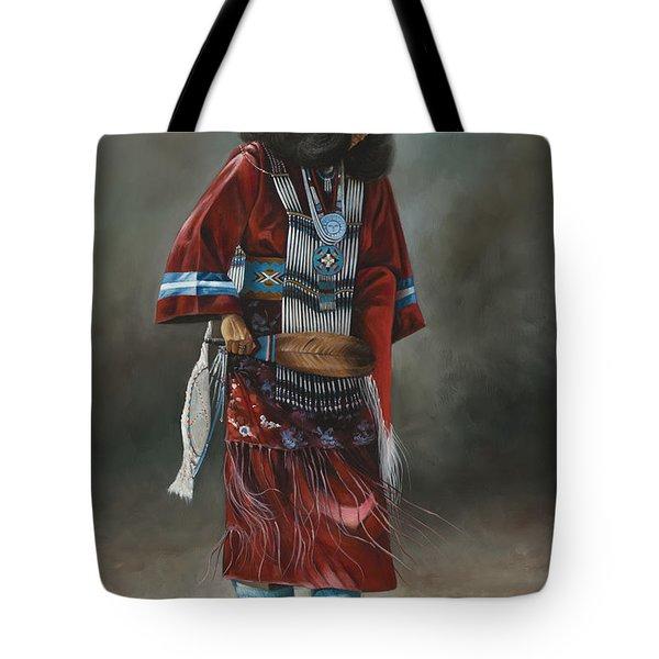 Ceremonial Red Tote Bag