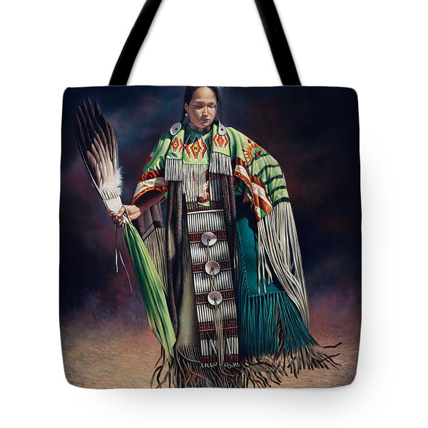 Ceremonial Rhythm Tote Bag