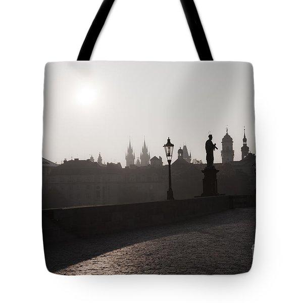 Charles Bridge Prague Tote Bag