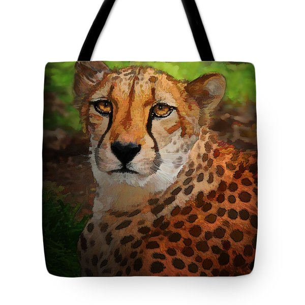 Cheetah Mama Tote Bag