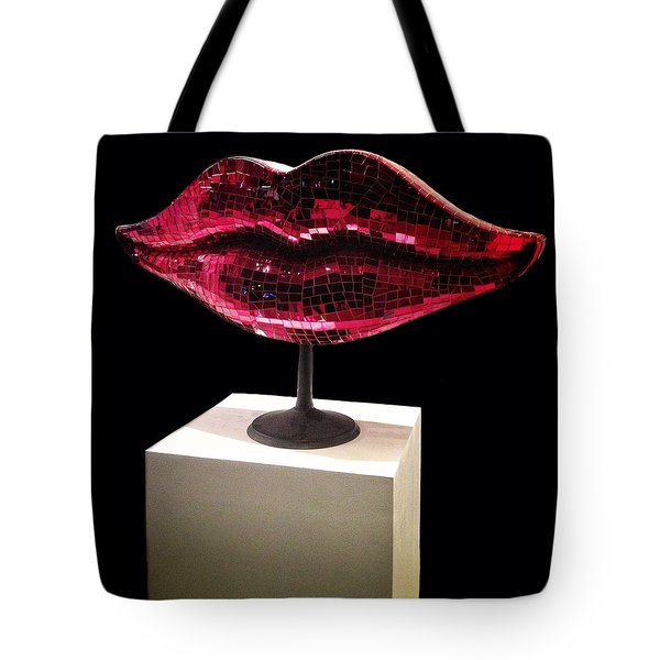 Chelsea Lips Tote Bag by Natasha Marco