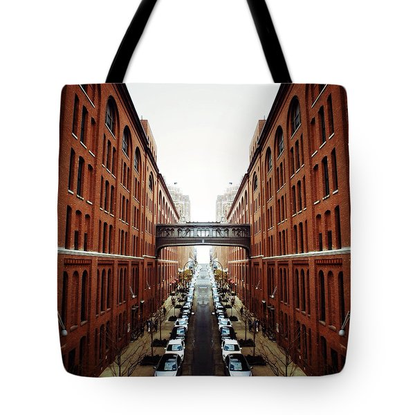 Chelsea Symmetry Tote Bag by Natasha Marco