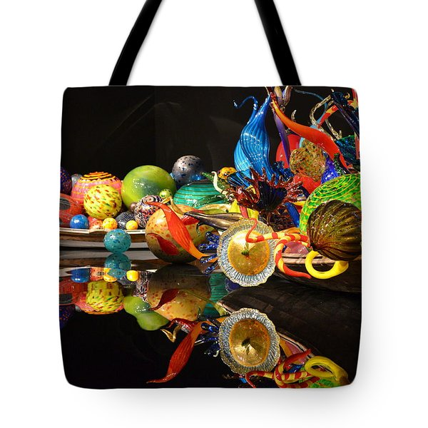 Chihuly-14 Tote Bag by Dean Ferreira