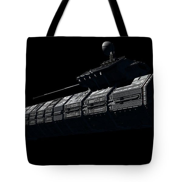 Chinese Orbital Weapons Platform Tote Bag by Rhys Taylor