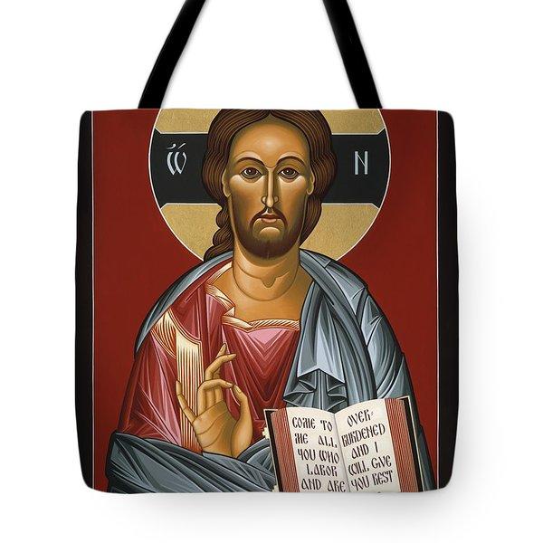 Christ All Merciful 022 Tote Bag