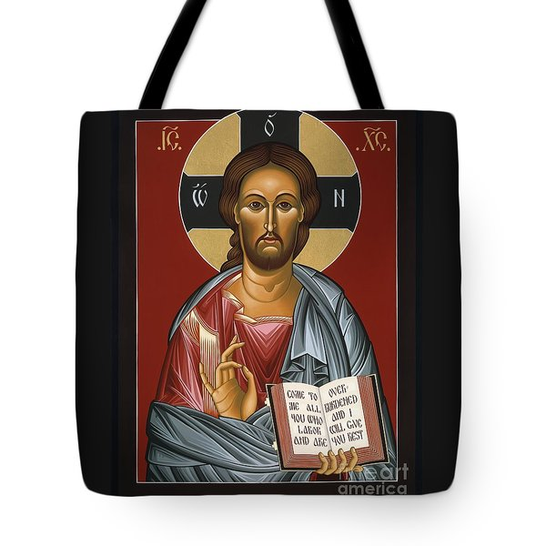 Christ All Merciful 022 Tote Bag