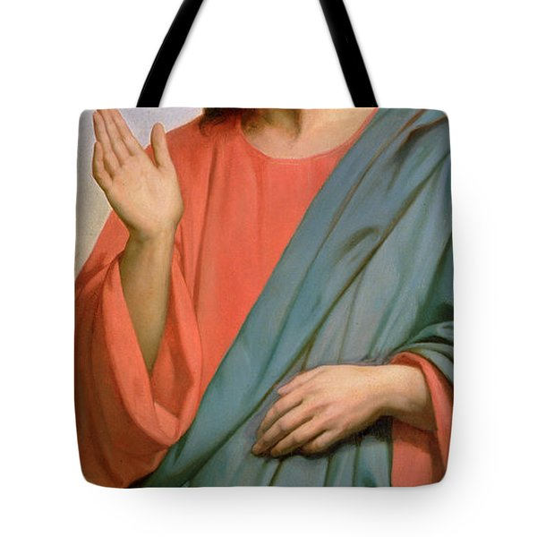 Christ Weeping Over Jerusalem Tote Bag by Ary Scheffer