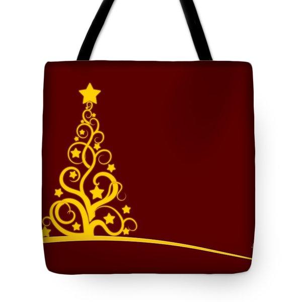 Christmas Card  Tote Bag by Martin Capek