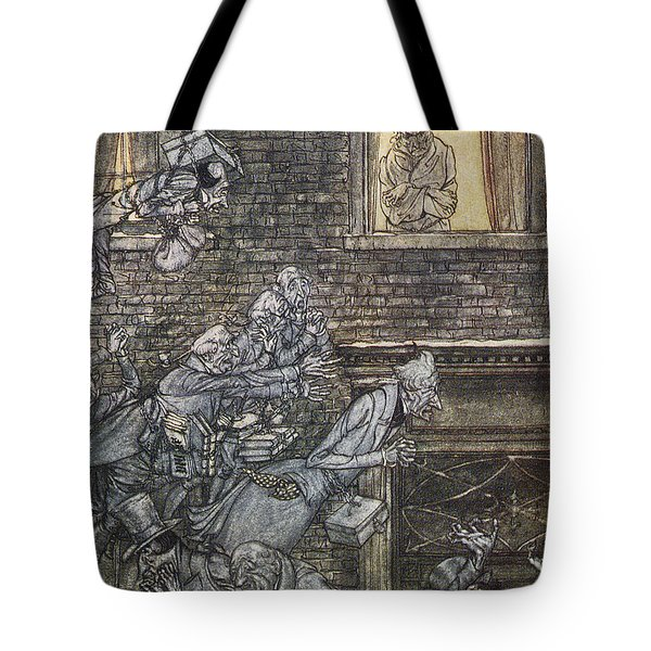 Christmas Carol Tote Bag by Granger