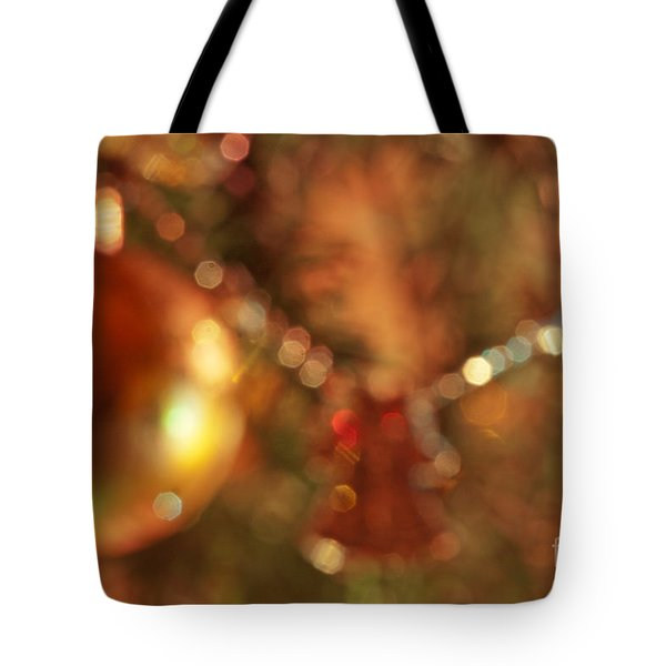 Christmas Tree Decorated  Tote Bag by Odon Czintos