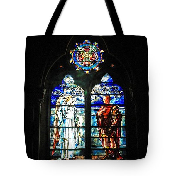 Church Of The Covenant Stained Glass 11 Tote Bag