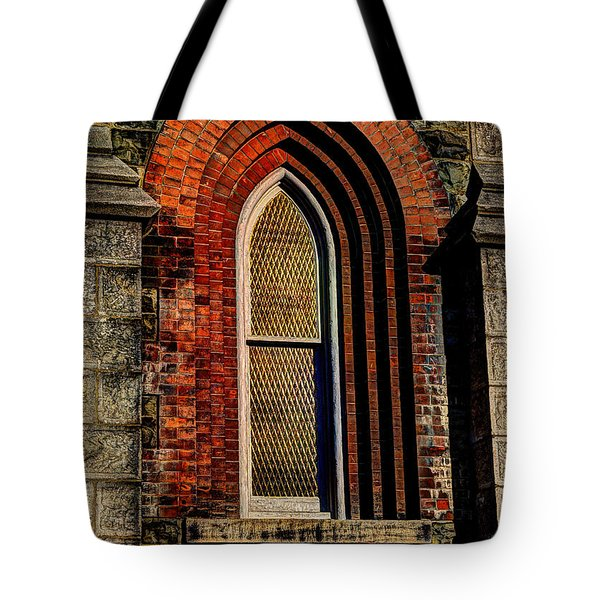 Churches On Church Street Tote Bag