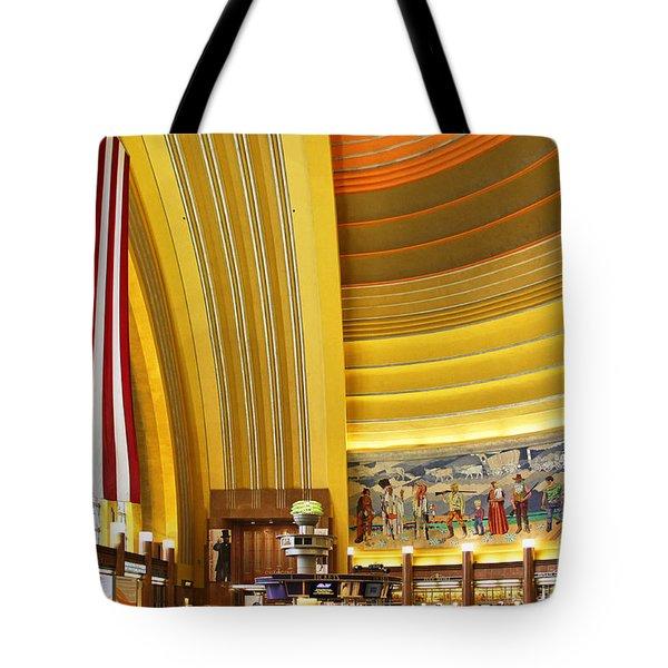 Cincinnati Museum Center At Union Terminal 0018 Tote Bag