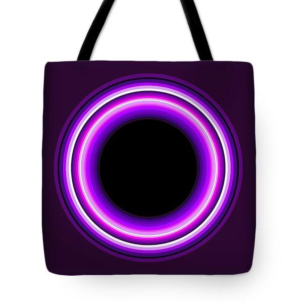 Circle Motif 144 Tote Bag by John F Metcalf