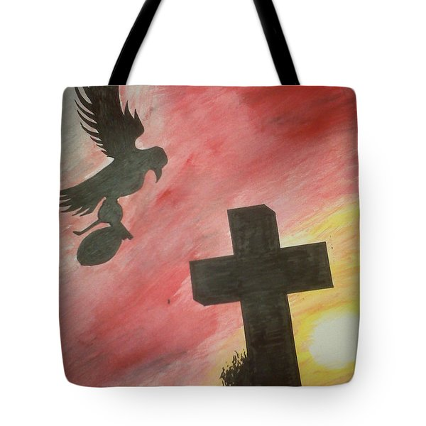 City Undead Tote Bag by Justin Moore
