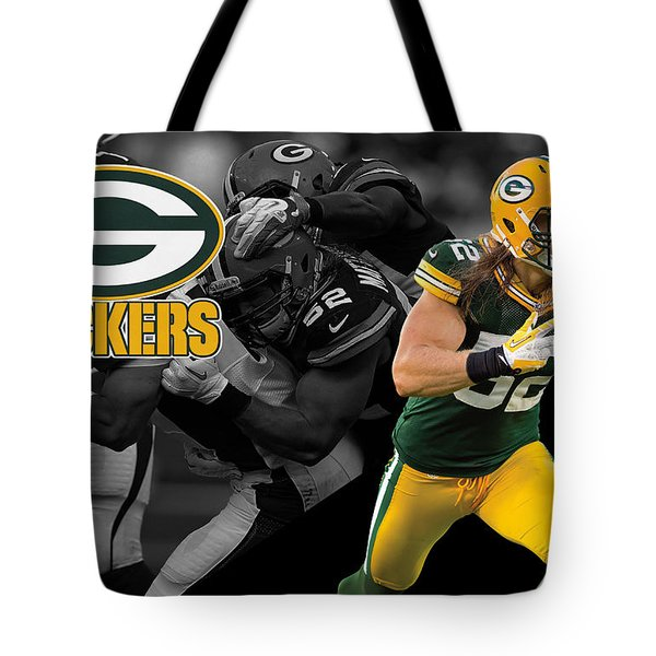 Clay Matthews Packers Tote Bag
