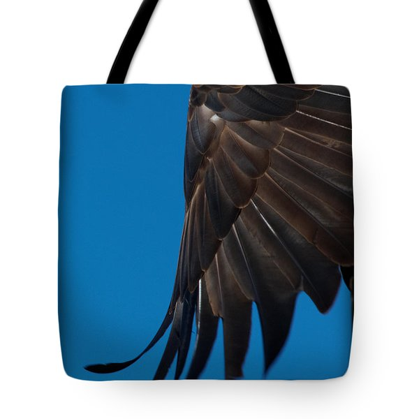 Close-up Of An American Bald Eagle In Flight Tote Bag