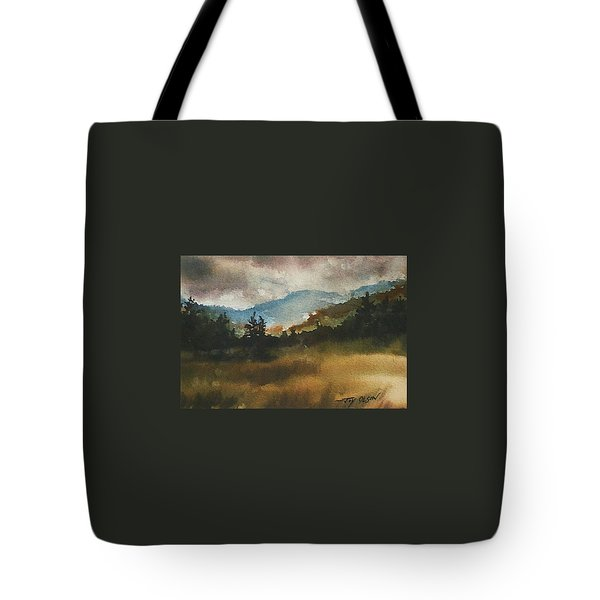 Clouds And Sunlight Tote Bag
