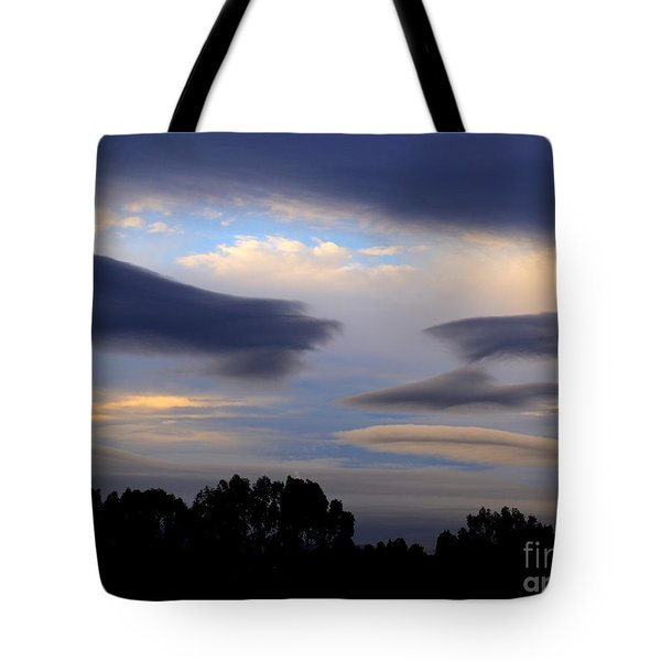 Cloudy Day 2 Tote Bag
