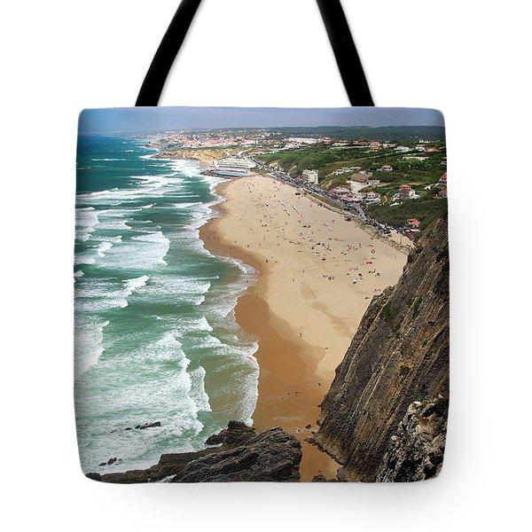 Coastal Cliffs Tote Bag by Carlos Caetano