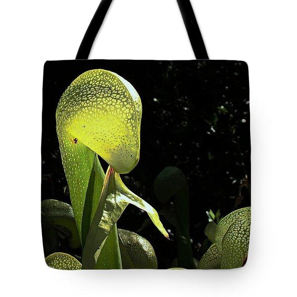 Cobra Lily Tote Bag