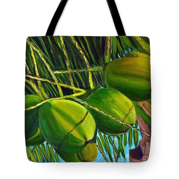 Coconuts At Sunset Tote Bag