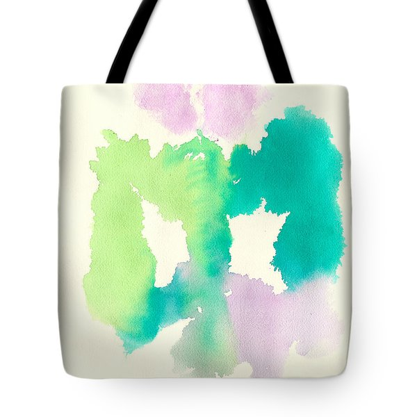 Tote Bag featuring the painting Cocoon by Frank Bright