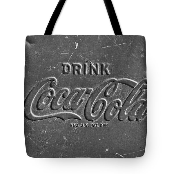 Coke Sign Tote Bag by Jill Reger