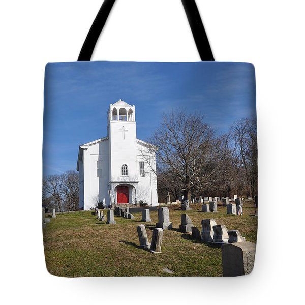 Cold Point Baptist Church Tote Bag by Bill Cannon