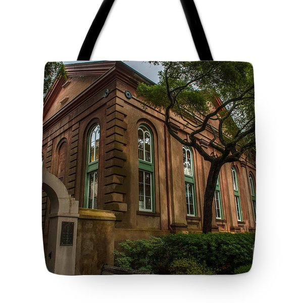College Of Charleston Campus Tote Bag