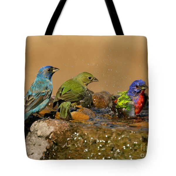 Colorful Bathtime Tote Bag