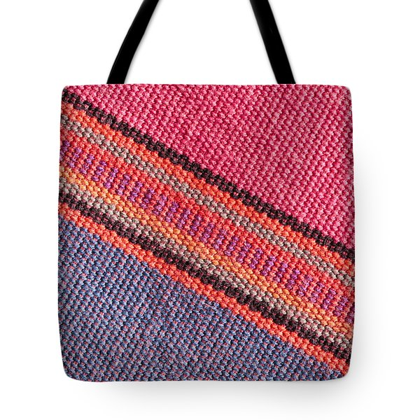 Colorful Cloth Tote Bag by Tom Gowanlock