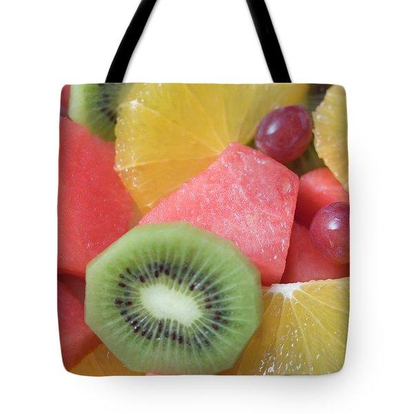 Colourful Fruit Salad (full-frame) Tote Bag